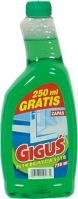 Płyn do szyb Giguś zielony zapas 750 ml