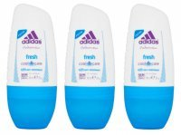 Dezodorant Adidas for Women Fresh Antyperspirant w kulce 50 ml x 3 sztuki