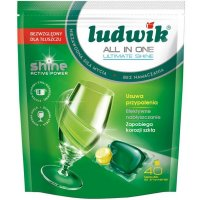 Kapsułki do zmywarek Ludwik All In One Lemon 40 szt