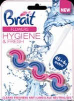 Kostka do wc Brait Flowers 45+6 g