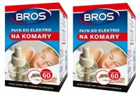 Płyn do elektrofumigatiora na komary Bros 40 ml x 2 sztuki