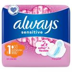 Podpaski higieniczne Always Sensitive Ultra Normal Plus (10 sztuk)
