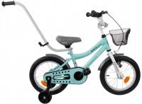 "Rowerek BMX 14"" Junior turkusowy Sun Baby J03.013.1.1"